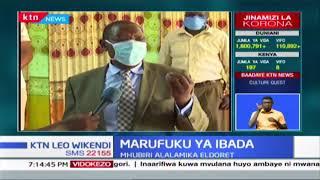 Mhubiri mmoja Eldoret aomba serikali kuondoa marufuku ya ibada