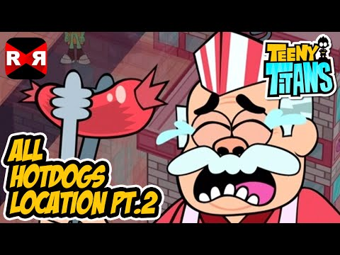 Teeny Titans - All Hotdogs Location Part 2 - IOS / Android Gameplay Video Mp3