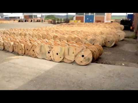 Производство на макари за кабели