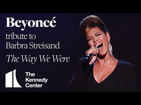 """Beyoncé - """"The Way We Were"""" (Barbra Streisand Tribute) 
