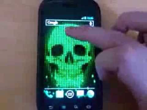 Video of Digital Skull Live Wallpaper