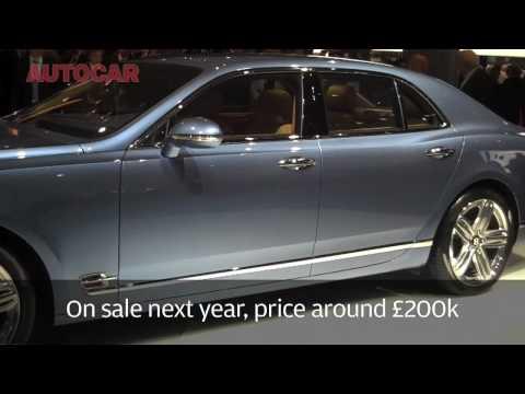 Frankfurt Motor Show - Bentley Mulsanne - autocar.co.uk