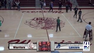 Winamac Boys Varsity Basketball vs LaVille
