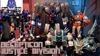 Transformers: The Decepticon Justice Division (Halloween Special)[Stop Motion Film]