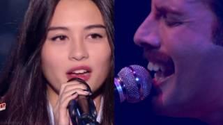 Bohemian Rhapsody (The Voice France 2017) - Lou Mai