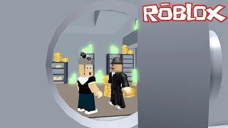 Aşırı Zor Banka Soygunu!!! - Panda ile Roblox Crazy Bank Heist Obby