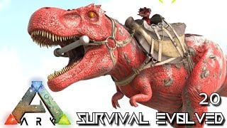 ARK: SURVIVAL EVOLVED - ALPHA TREX BRONTO & GRIFFIN TAME !!! E20 (MOD ANNUNAKI PROMETHEUS RAGNAROK)