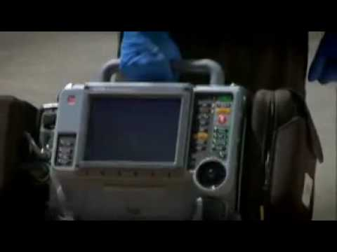 The Life Pak 15 a robust Hospital and Paramedic defibrillator and monitor