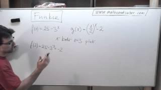 Funkce - funkční hodnota v bodě 10. 4. 2014