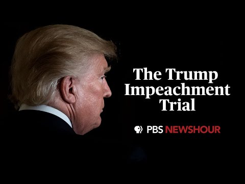 WATCH: Trump impeachment trial events begin in the Senate | January 16