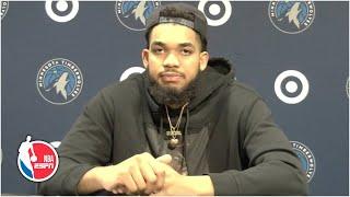 Karl-Anthony Towns reacts to the Derek Chauvin verdict   NBA on ESPN
