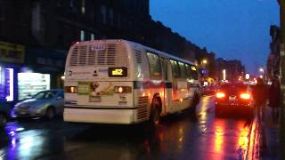 preview picture of video 'MTA NYCT Bus: 1998 Nova-RTS B62 Bus #9444 at Bedford-Manhattan Aves'