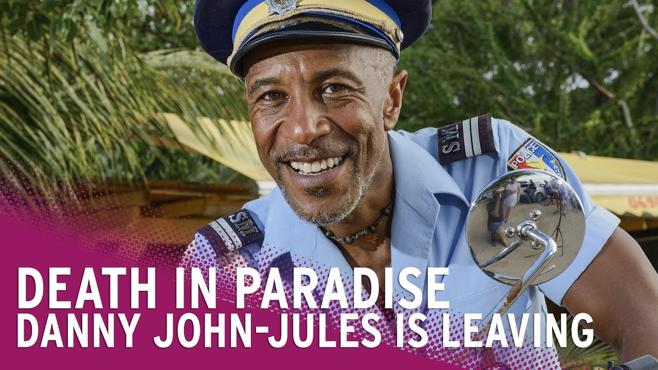 Danny John-Jules Leaves Death in Paradise Screenshot Download
