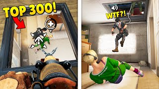 TOP 300 FUNNIEST FAILS IN RAINBOW SIX SIEGE (Part 2)