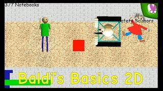 Baldi's Basics in Education and Learning 2D - Baldi's Basics Fangame