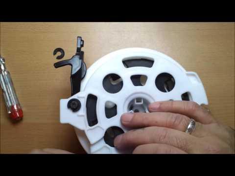 Staubsauger Kabelaufroller Reparatur/Vacuum cleaner cable reel repair