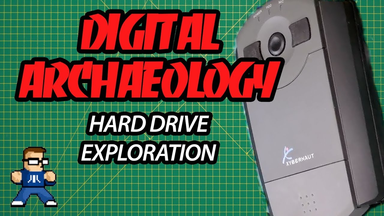 Digital Archaeology: Exploring An Old Hard Drive