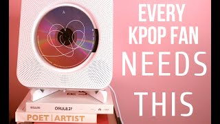 Every KPOP Fan NEEDS THIS! ASTRONORD DAEBAK! CD Player Review
