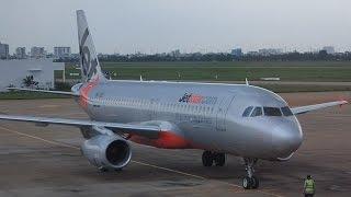 Flight Review Jetstar Asia A320 Ho Chi Minh City to Singapore