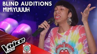 Kung 'Di Rin Lang Ikaw by Mimiyuuuh | The Voice Kids Philippines Blind Auditions 2019