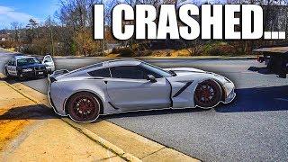 I Crashed My Corvette