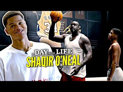 "Shaqir O'Neal ""Day In The Life"" | Inside Shaq's INSANE Atlanta Mansion!! The O'Neals are COMEDY!"