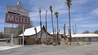 ABANDONED HOTEL IN THE AREA 51 DESERT
