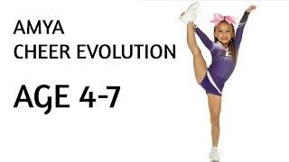 Amya cheer Evolution ( Age 4-7 )