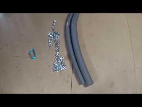 Comment se fabriquer une ceinture de lest pour pas chère?