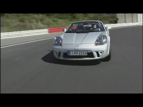 Modified Toyota MR2 TTE Turbo Track Test