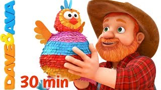 👶 Nursery Rhymes and Action Songs for Kids | Kids Songs from Dave and Ava 👶