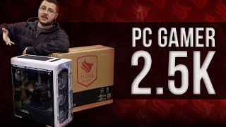 MONTAMOS UM PC GAMER COM 2.500 REAIS | Montagem