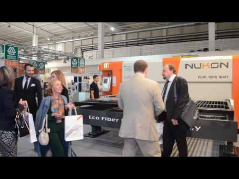 Nukon Bulgaria Fiber Laser Cutting Machines at Technical Fair Plovdiv 2016