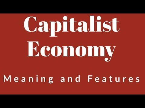 Capitalist Economy and its features - Class 12, Micro-Economics
