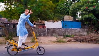 The Amazing Indian Cycle Inventor! MADE IN INDIA! (Day 4: Vadodara)