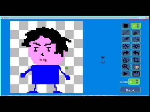 Vidéo Pixel Animator: GIF Maker