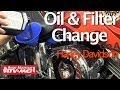 How to - Harley Davidson Engine Oil & Filter Change