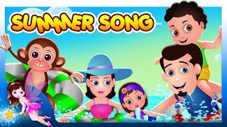 😎  Summer Song 🍀  | Nursery Rhymes & English Songs For Children | By TinyDreams 😎
