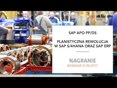 SAP APO PP/DS – planistyczna rewolucja w SAP S/4HANA oraz SAP ERP