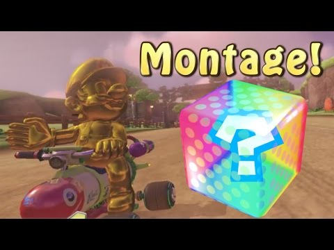 Mario Kart 8 Deluxe Online Funny Moments Montage
