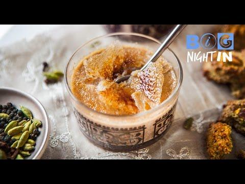 Masala Chai Crème Brûlée | Big Night In