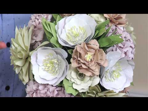 Make Your Own Wedding Flowers with David Tutera | Sizzix Bouquet & Boutonniere DIY Kit