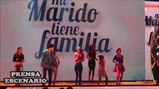 MI MARIDO TIENE FAMILIA - ACTORES ELENCO JUVENIL - BAILAN - NENA -  (GRUPO MARAMA)