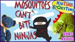 Mosquitoes Cant Bite Ninjas   Ninja Books For Kids   Funny Books READ ALOUD