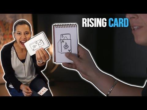 Rising Card Magic Trick   Rick Smith Jr.