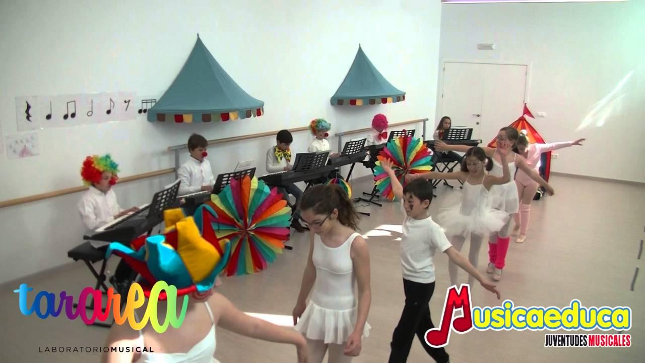 El vals del payaso - Alumnos Mi Teclado 3  y  Danza  - Tararea Laboratorio Musical - Córdoba
