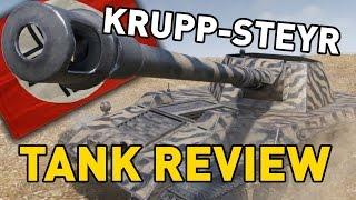 World of Tanks || Krupp-Steyr Waffenträger - Tank Review