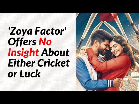 Movie Review: 'Zoya Factor' Offers No Insight About Either Cricket or Luck