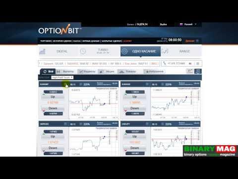 Урок 7 опционы одно касание OptionBit