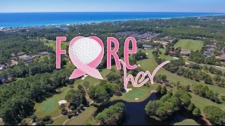FORE HER Golf Outing at Santa Rosa Beach Golf & Beach Club 2016